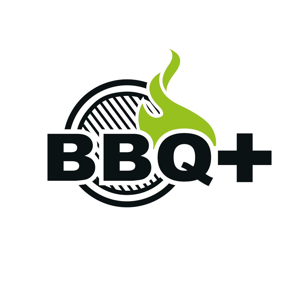 bbq-plus logo design
