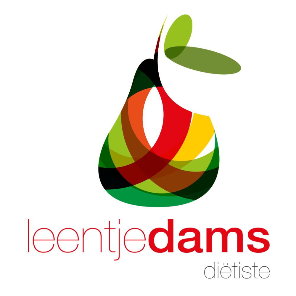 logo-ontwerp diëtiste leentje dams
