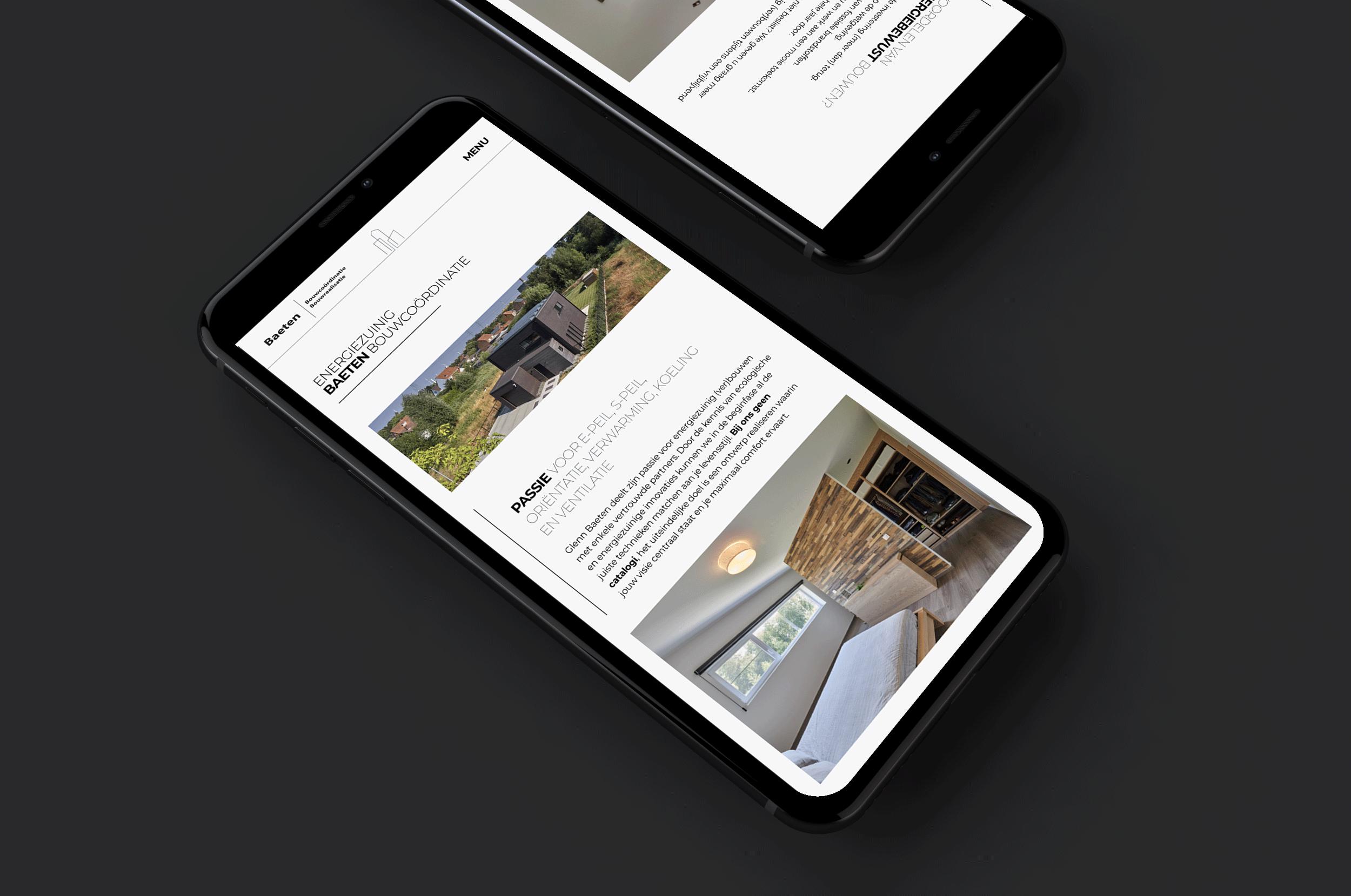 website laten maken iPhone